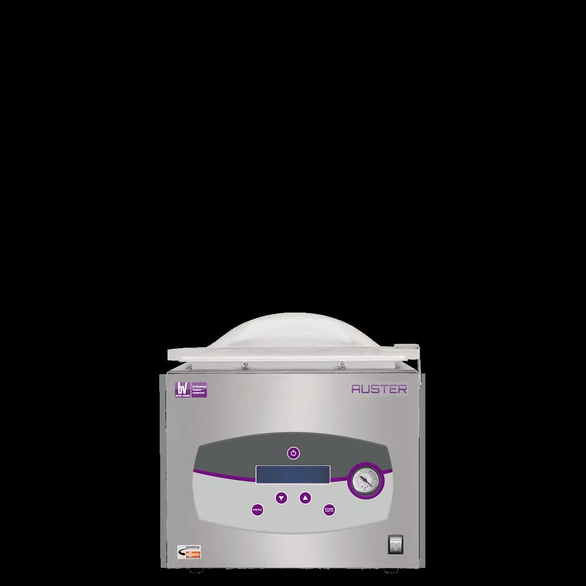 Auster chambered vacuum packing machine