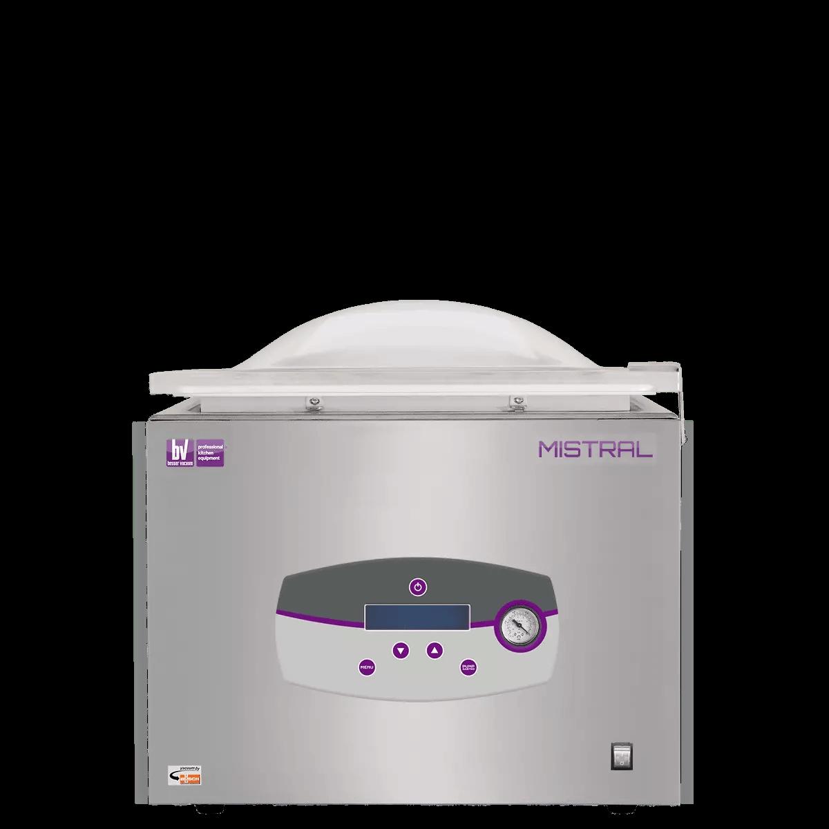 Mistral chambered vacuum packing machine